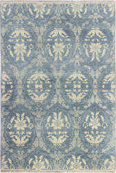 Bashian Heirloom H110-Hr106 Light Blue Area Rug
