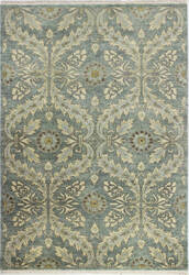 Bashian Heirloom H110-Hr103 Teal Area Rug