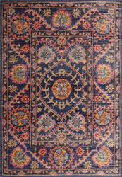Bashian Heritage H114-Z036 Dark Blue Area Rug