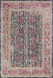 Bashian Heritage H114-Z043a Dark Blue Area Rug