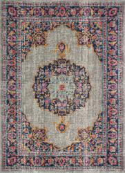 Bashian Heritage H114-Z040a Grey Area Rug