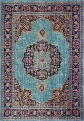 Bashian Heritage H114-Z040a Teal Area Rug