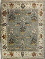 Bashian Vintage I123-Hsa109 Slate Area Rug