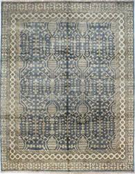 Bashian Vintage I123-Sa117 Slate Area Rug