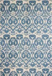 Bashian Rajapur R121-Cal901 Ivory - Blue Area Rug