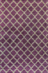 Bashian Greenwich R129-Hg295 Lilac Area Rug