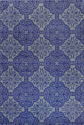 Bashian Chelsea S185-St225 Blue Area Rug