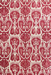 Bashian Chelsea S185-St252 Ivory - Red Area Rug