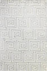 Bashian Norwalk S217-Vw206 White - Grey Area Rug