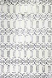 Bashian Hotel Collection S217-Vw212 White - Slate Area Rug