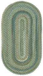 Capel Kill Devil Hill 210 Dark Green Area Rug
