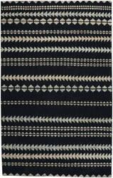 Capel Genevieve Gorder Scandinavian Stripe 1715 Ebony Beige Area Rug