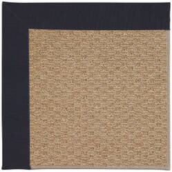 Capel Zoe Raffia 1992 Dark Navy Area Rug