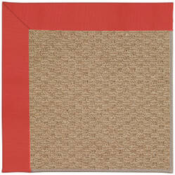 Capel Zoe Raffia 1992 Sunset Red Area Rug