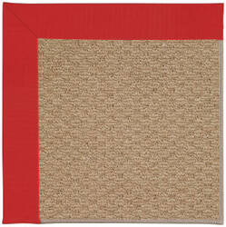 Capel Zoe Raffia 1992 Red Area Rug