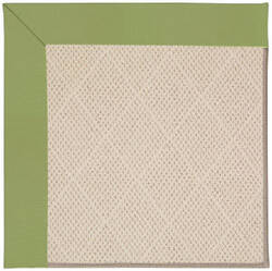 Capel Zoe White Wicker 1993 Green Area Rug