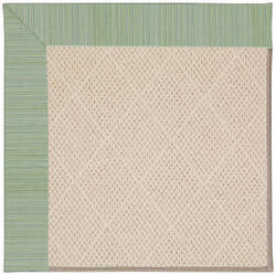 Capel Zoe White Wicker 1993 Green Spa Area Rug