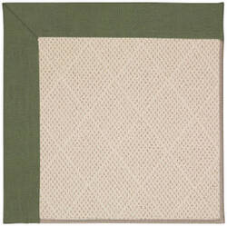 Capel Zoe White Wicker 1993 Plant Green Area Rug