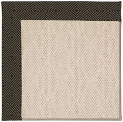 Capel Zoe White Wicker 1993 Magma Area Rug