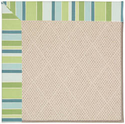 Capel Zoe White Wicker 1993 Bay Breeze Area Rug