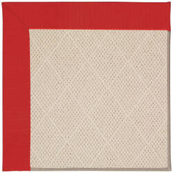 Capel Zoe White Wicker 1993 Red Area Rug