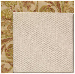 Capel Zoe White Wicker 1993 Tan Area Rug