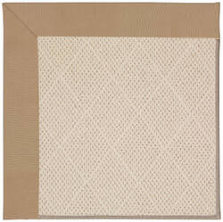 Capel Zoe White Wicker 1993 Biscuit Area Rug