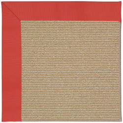 Capel Zoe Sisal 1995 Sunset Red Area Rug