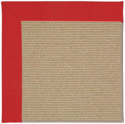 Capel Zoe Sisal 1995 Red Area Rug