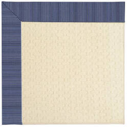 Rugstudio Sample Sale 63043R Navy Stripe Area Rug