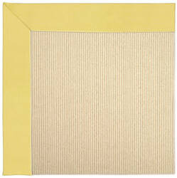 Capel Zoe Beach Sisal 2009 Yellow Area Rug