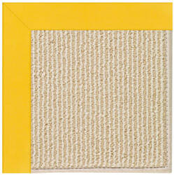 Capel Zoe Beach Sisal 2009 Summertime Yellow Area Rug