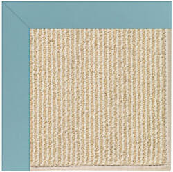 Capel Zoe Beach Sisal 2009 Bright Blue Area Rug