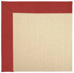 Capel Zoe Beach Sisal 2009 Red Crimson Area Rug