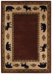 Capel Cottage Grove 2365 Wine Area Rug