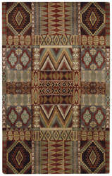 Capel Big Horn 3055 Brown Multi Area Rug