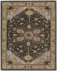 Capel Smyrna Serapi 3158 Ebony - Yellow Area Rug