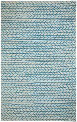 Capel Genevieve Gorder Spear 3305 Beige Blue Area Rug