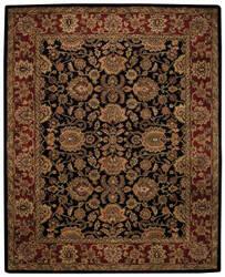 Capel Piedmont Persian 3366 Ebony Area Rug