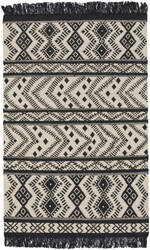 Capel Genevieve Gorder Abstract 3642 Black Area Rug