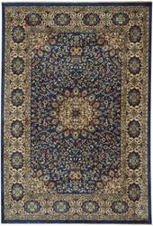 Capel Anatolia Medallion 3802 Teal Area Rug