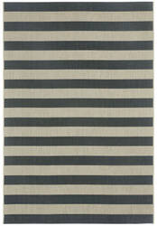Capel Elsinore Stripe 4730 Cinders Area Rug