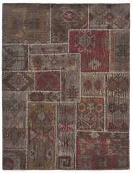 Classic Home Patchwork Kilim 3003 Coffee Area Rug