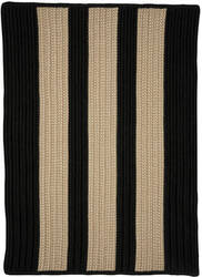 Colonial Mills Boat House Bt19 Black Area Rug