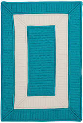 Colonial Mills Rope Walk Cb92 Turquoise Area Rug