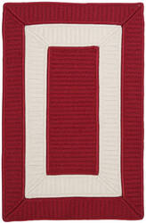 Colonial Mills Rope Walk Cb97 Red Area Rug