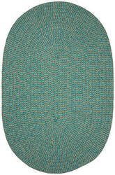 Colonial Mills Softex Check Cx35 Teal Check Area Rug