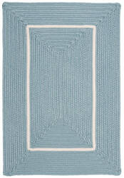 Colonial Mills Doodle Edge Fy32 Light Blue Area Rug