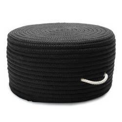 Colonial Mills Simply Home Solid Pouf Ho31 Black