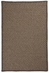 Colonial Mills Natural Wool Houndstooth Hd34 Caramel Area Rug